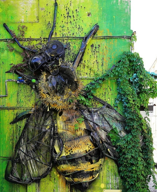 abeille géante Bordalo II