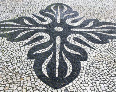 les trottoirs de Lisbonne