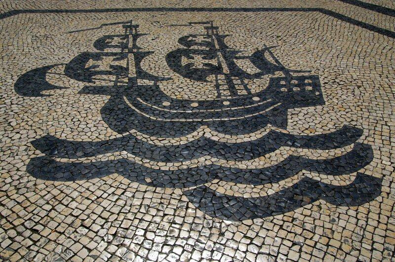 motif trottoir portugais