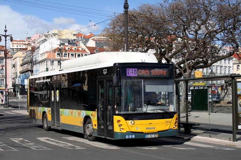 se déplacer en bus à lisbonne