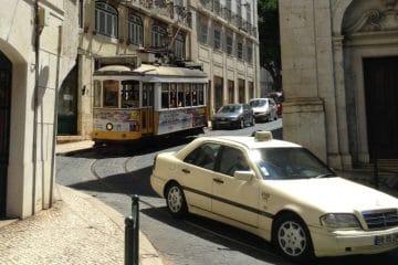 les transports à lisbonne