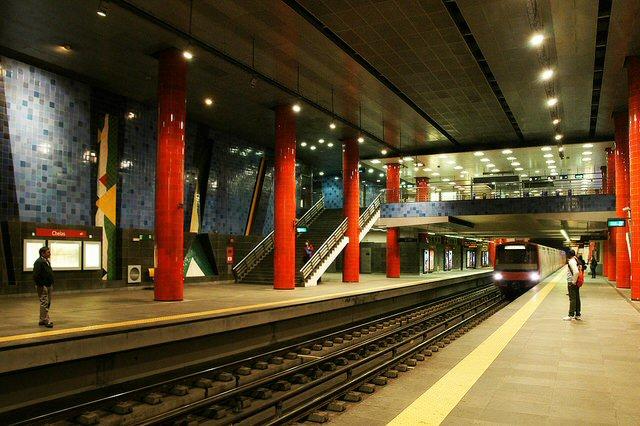 le métro de lisbonne