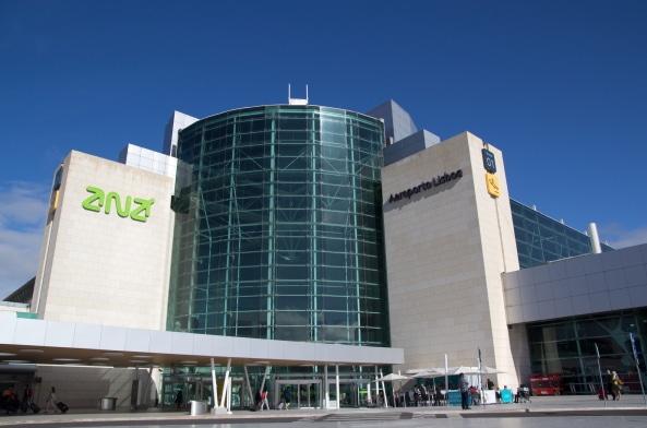 de l'aéroport au centre ville de lisbonne