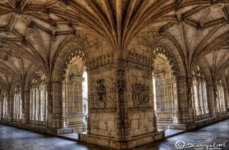 architecture du cloître