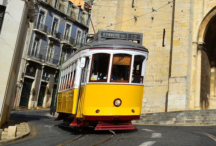 plan tramway 12E lisbonne