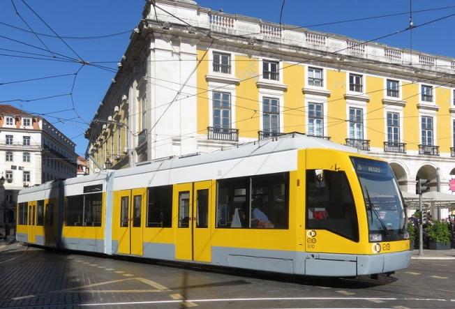 Belém en tramway