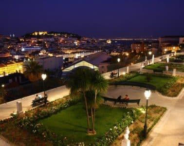 Belvédère São Pedro de Alcantara - Lisbonne.net