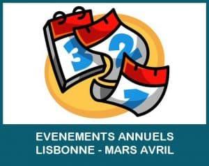 evenements annuels lisbonne mars avril