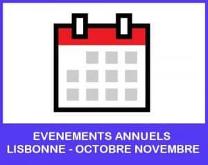evenements annuels lisbonne octobre novembre