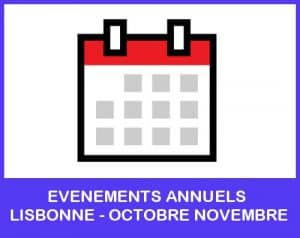 evenements annuels lisbonne octobre novembre
