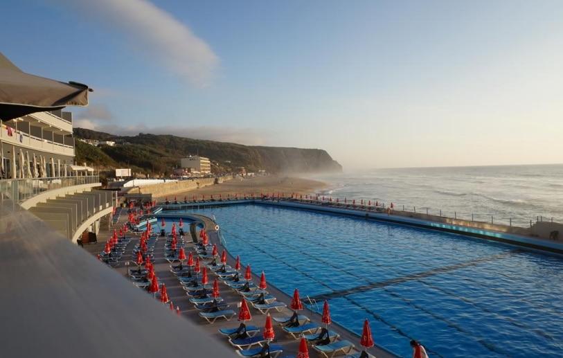 piscine eau salée hôtel arribas sintra
