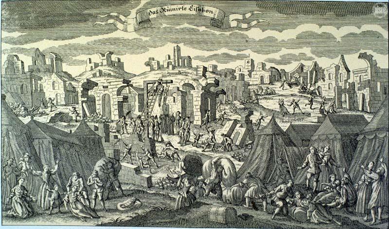 seisme lisbonne 1755
