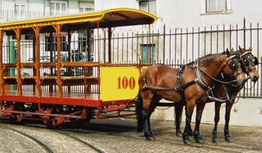 tramway americain lisbonne