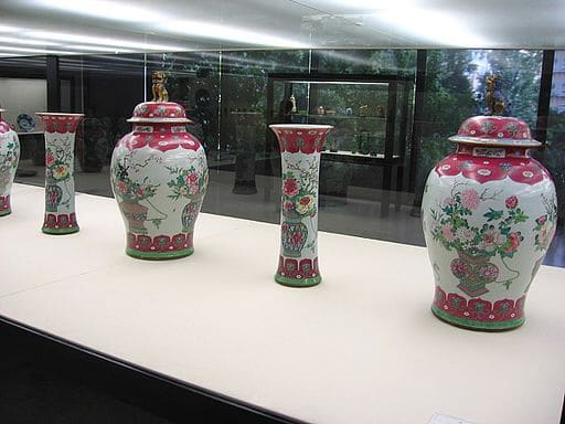 musee gulbenkian lisbonne vases chinois