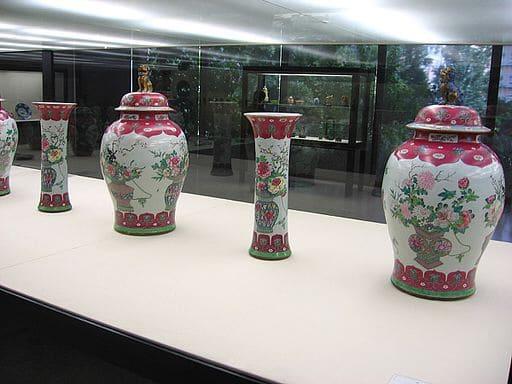 musee gulbenkian lisbonne vases chinois