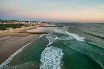 les plages de la costa de caparica