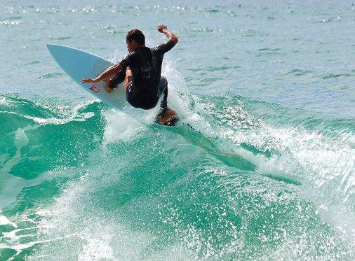 plage surf caparica
