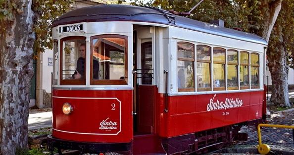 tramway sintra praia das maças