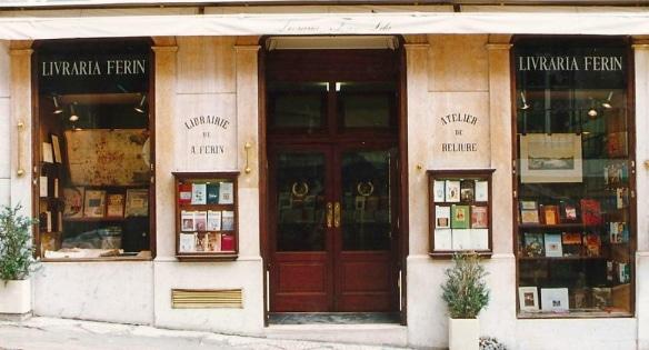 une librairie historique à Lisbonne