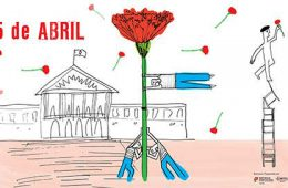 commémoration du 25 avril à Lisbonne