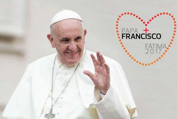 pélerinage du pape François au Portugal à Fátima