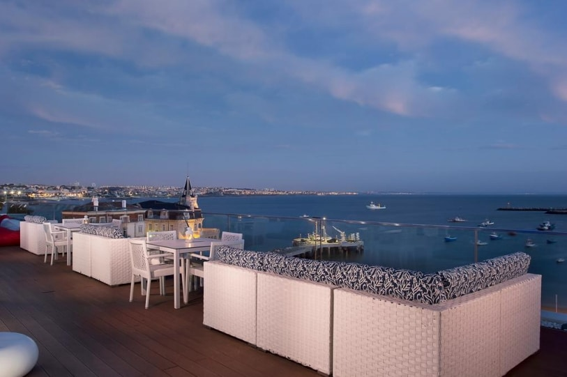 hotel en bord de mer à proximité de lisbonne