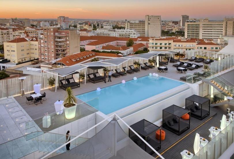 les meilleurs hôtels de lisbonne avec piscine et spa