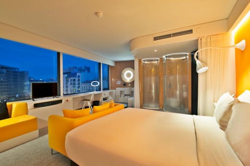 hôtel lisbonne avec piscine intérieure