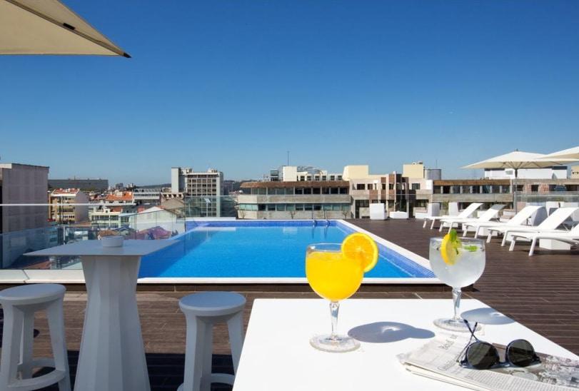 lisbonne hotel piscine