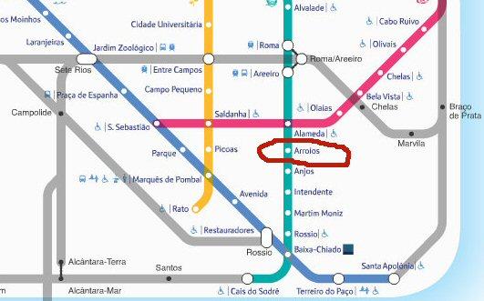 travaux métro lisbonne arroios