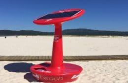 hotspot wifi sur les plages de lisbonne