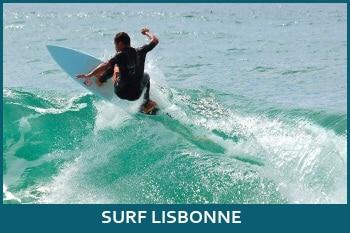 faire du surf à lisbonne