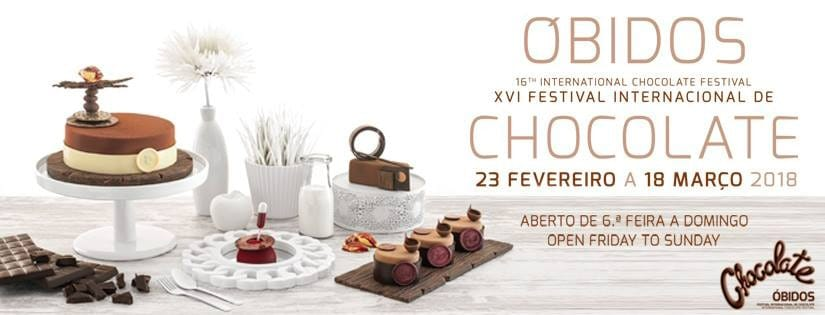 obidos fête du chocolat 2018