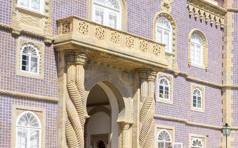 l'architecture du palais de pena