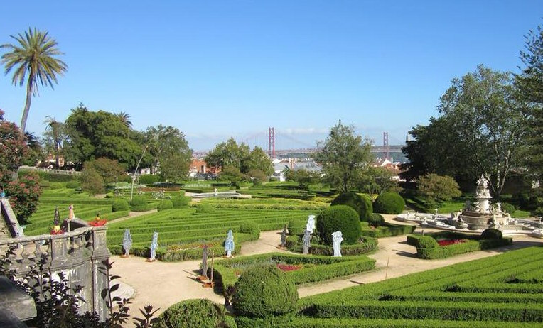 les plus beaux jardins de lisbonne