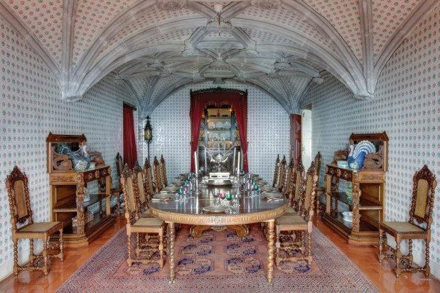 l'intérieur du palais de pena