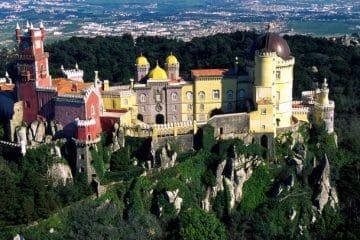 palais de sintra au portugal