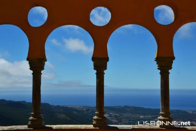 les terrasses du palais de pena