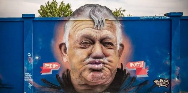 mur street art lisbonne