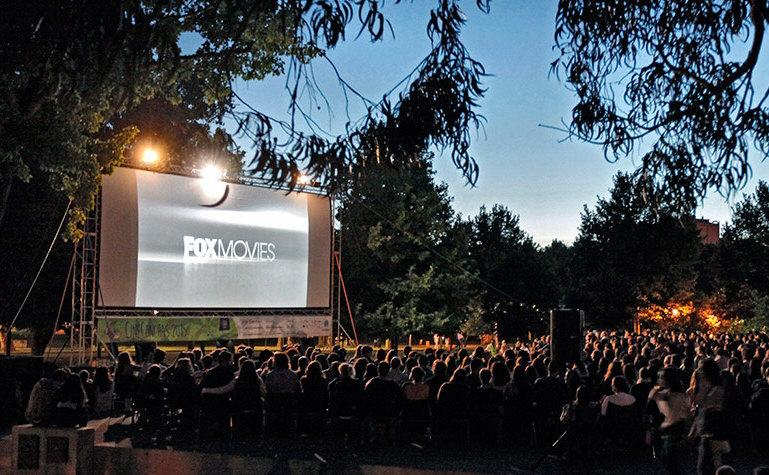 cinema en plein air à lisbonne