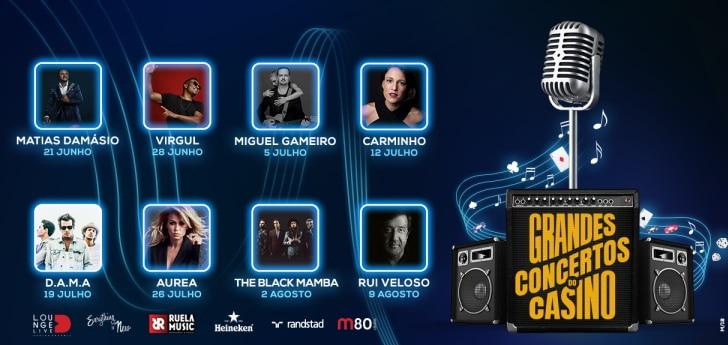concerts gratuits au casino d'estoril