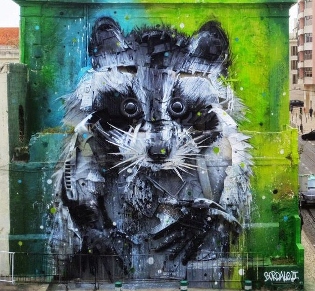 art urbain lisbonne