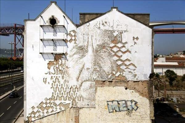 art urbain à lisbonne