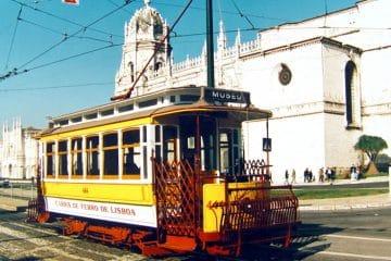 ancien tramway lisbonne