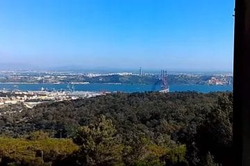 point de vue à 360° sur lisbonne