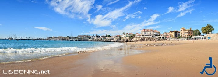 plages lisbonne accessibles