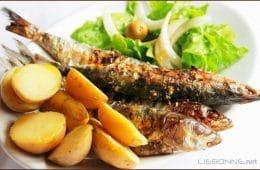 manger des sardines au portugal