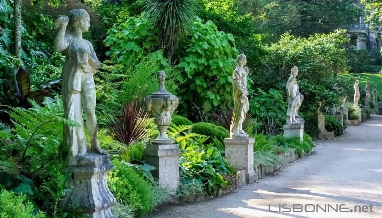 jardin du palais de regaleira