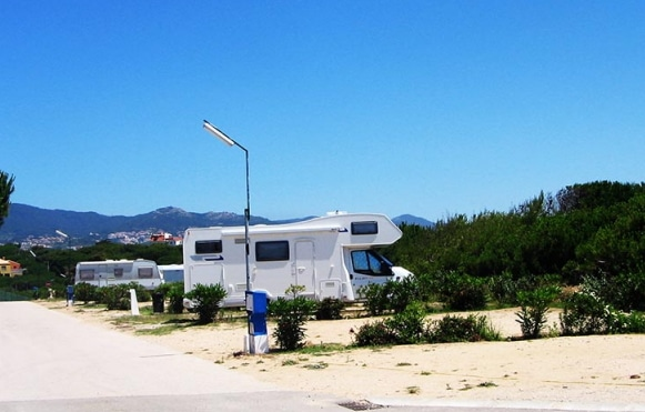 camping aménagé pour les camping cars