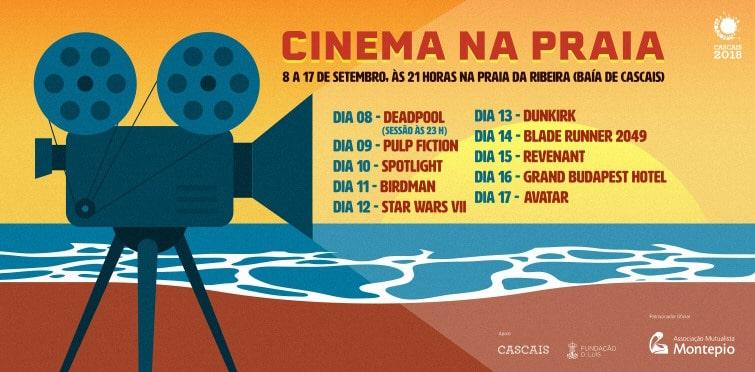 cinema sur la plage